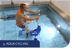 aqua bike cycling