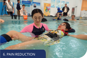 pain reduction in water ewac medical